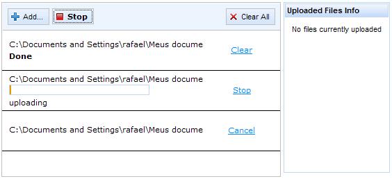 Richfaces File Upload